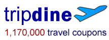 Visit tripdine Coupon Search engine and never pay retail again.