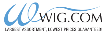 Wig.com offer - Wig.com - Free Standard Shipping On $49 Or More!
